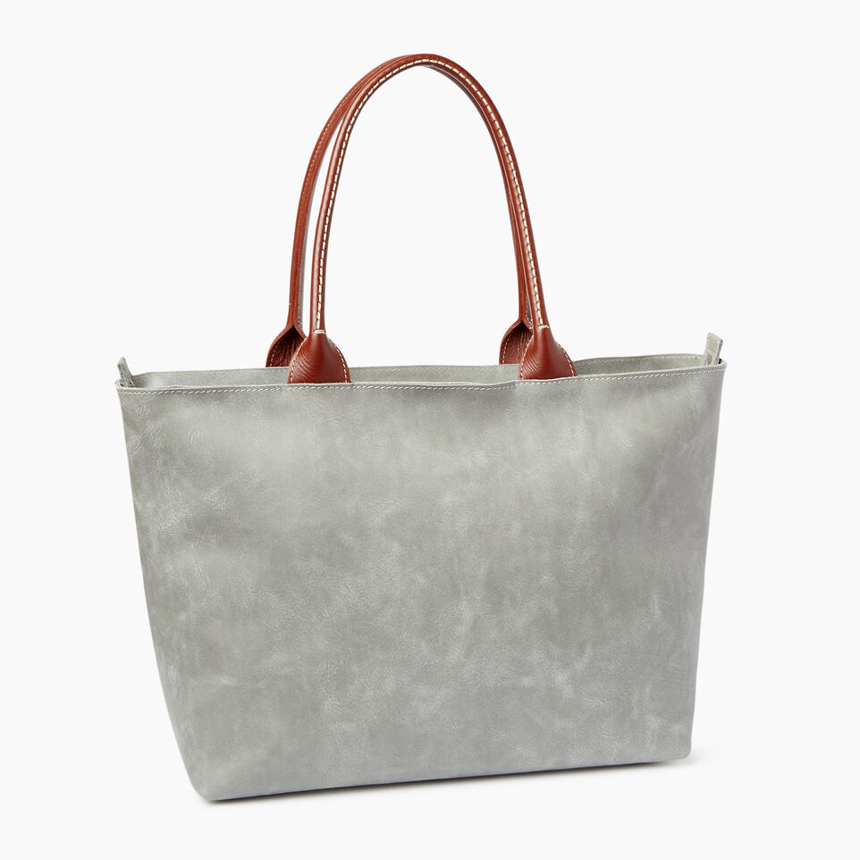 Roots-Leather  Handcrafted By Us Our Favourite New Arrivals-Mont Royal Tote-undefined-C