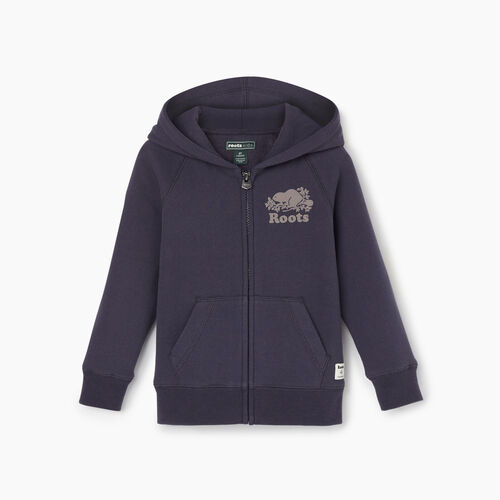 Roots-Kids Our Favourite New Arrivals-Toddler Original Full Zip Hoody-Graphite-A