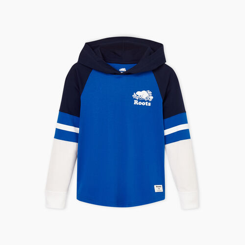 Roots-Kids Boys-Boys Cooper Hoody T-shirt-Olympus Blue-A