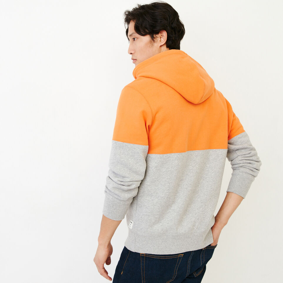 Roots-Men Our Favourite New Arrivals-Athletic Dept. Zip Hoody-Grey Mix-E