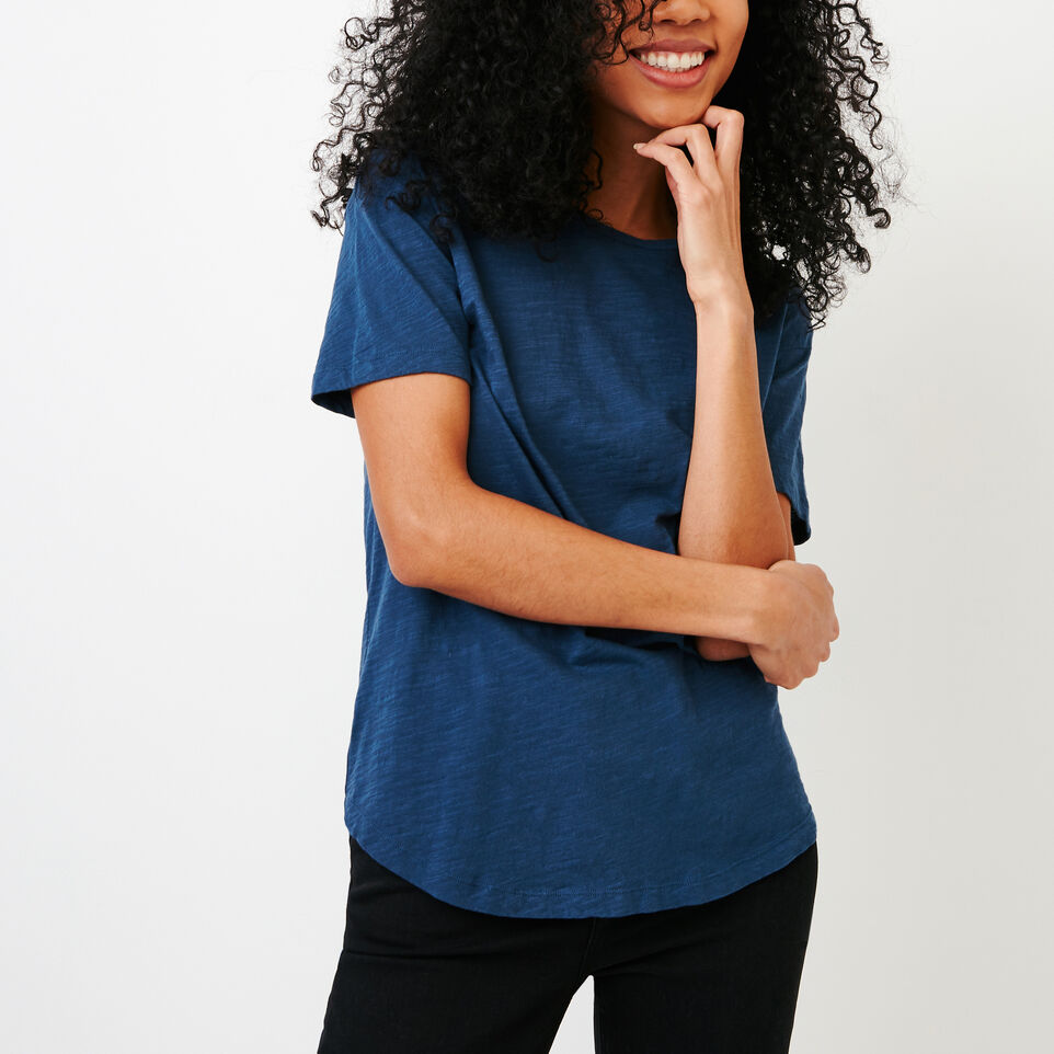 Roots-New For January Women-Savin Top-Sargasso Sea-A