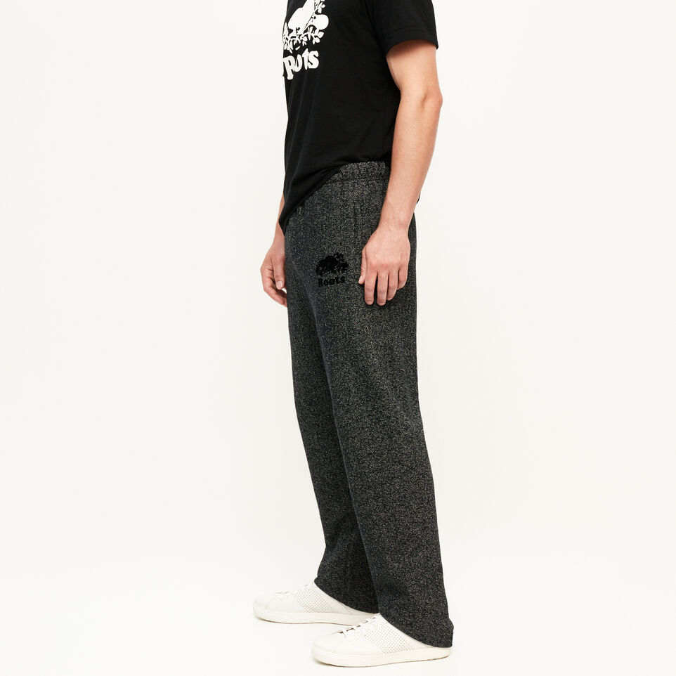 Roots-Men Bestsellers-Heritage Sweatpant-Black Pepper-C
