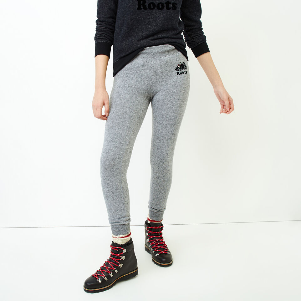 Roots-Women Our Favourite New Arrivals-Buddy Cozy Skinny Sweatpant-Salt & Pepper-A