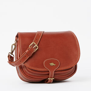 Roots-Leather Vegetable Tanned Leather-English Saddle Veg-Oak-A