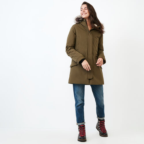 Roots-Women Categories-Portage Parka-Fatigue-A