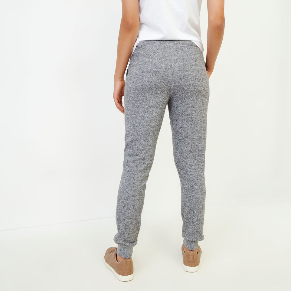 Roots-Sweats Sweatpants-Original Slim Cuff Sweatpant-Salt & Pepper-D