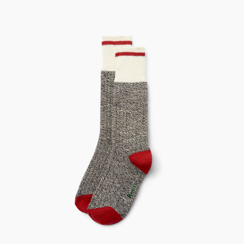 Roots-Gifts Cabin Comfort-Womens Roots Pop Cabin Sock 3 Pack-Grey Oat Mix-A