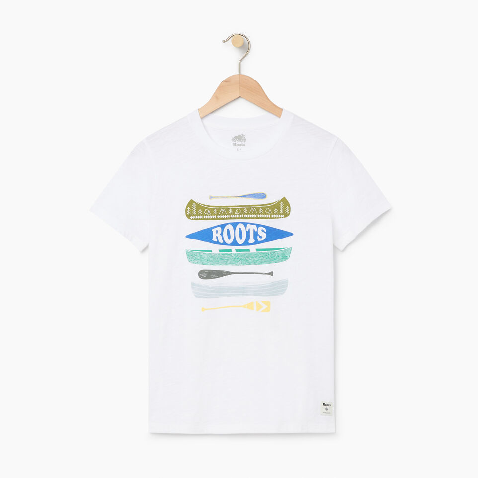Roots-undefined-Womens Roots Paddle T-shirt-undefined-A