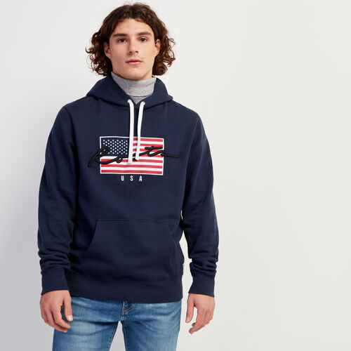 Roots-New For November Script Collection - Additional 40% Off-Script USA Kanga-Navy Blazer-A