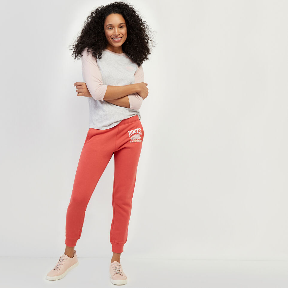 Roots-New For March Rba Collection-RBA Slim Sweatpant-Cranberry-B