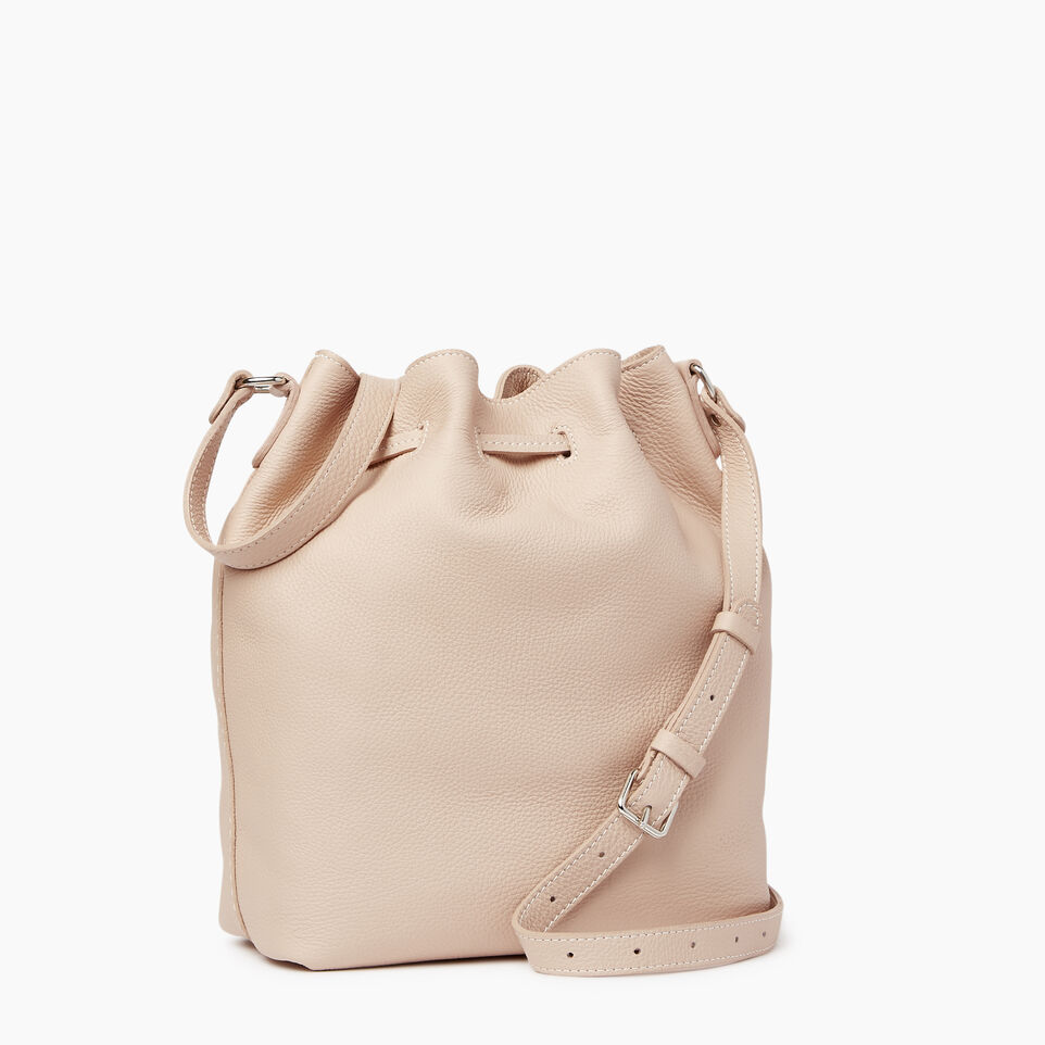 Roots-Leather  Handcrafted By Us Our Favourite New Arrivals-Sherbrooke Bucket-Pink Mist-C