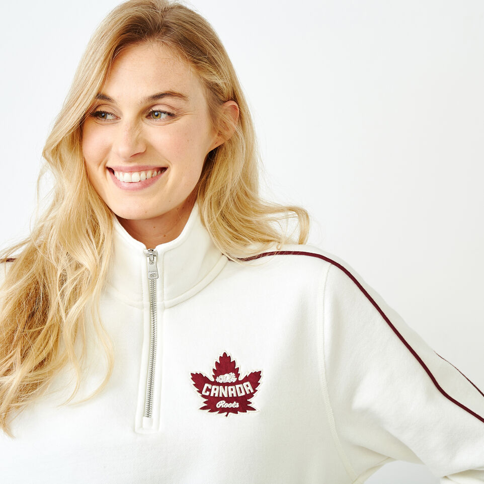 Roots-Women Our Favourite New Arrivals-Womens Canada Zip Stein-Pristine White-E