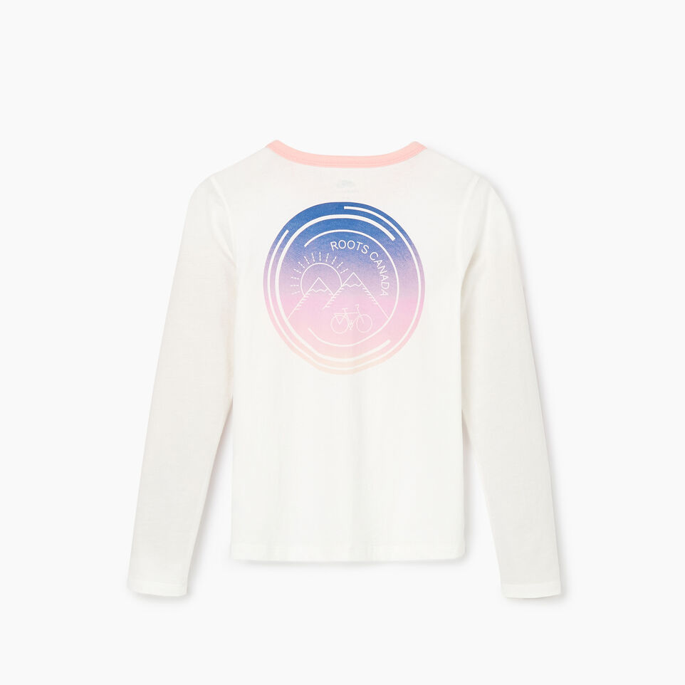 Roots-undefined-T-shirt Cycle pour filles-undefined-B