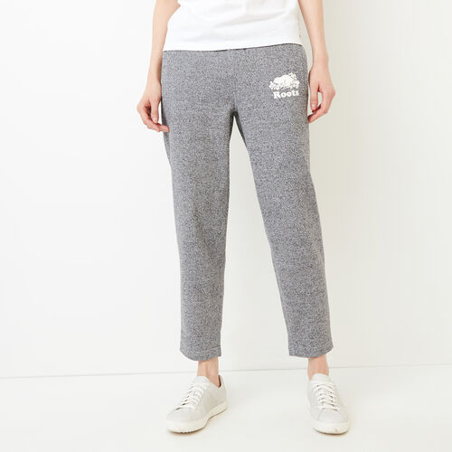 Roots-Women Bestsellers-Easy Ankle Sweatpant-Salt & Pepper-A