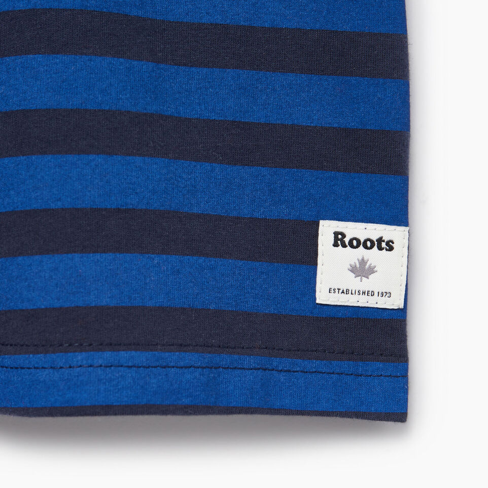 Roots-Kids Our Favourite New Arrivals-Toddler Cooper Beach Stripe T-shirt-Navy Blazer-C