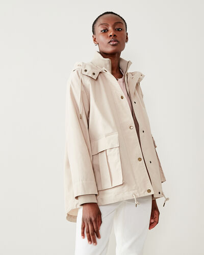 Roots-New For This Month Journey Collection-Wilderness Jacket-Natural-A