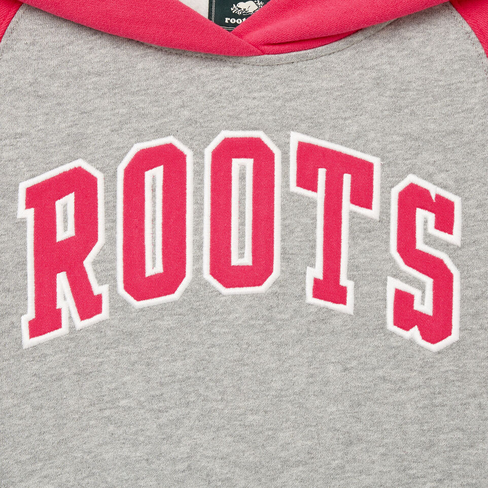 Roots-Kids Our Favourite New Arrivals-Girls 2.0 Hooded Dress-Grey Mix-D