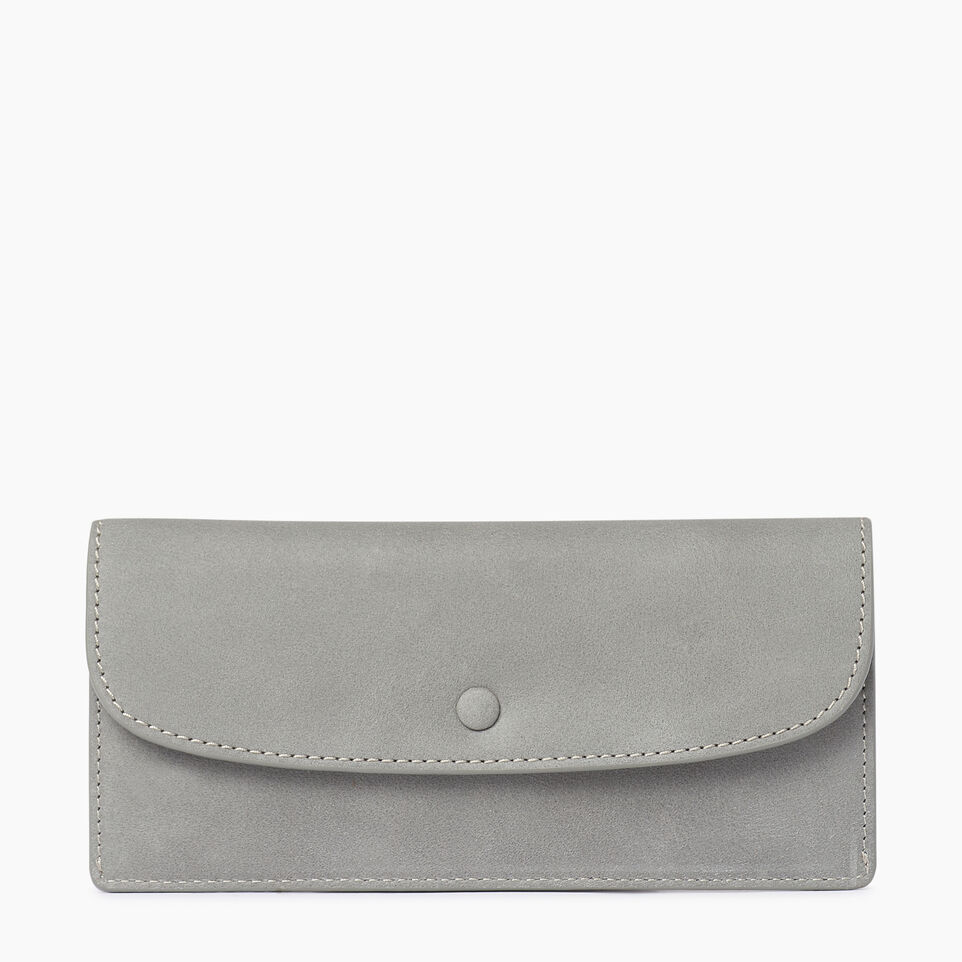 Roots-Leather  Handcrafted By Us Our Favourite New Arrivals-Riverdale Slim Wallet-Quartz-A