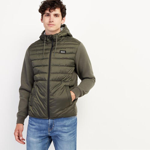 Roots-Men New Arrivals-Journey Hybrid Jacket-Loden-A