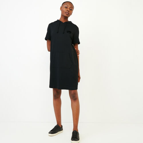 Roots-Women Dresses-Summerside Dress-Black-A