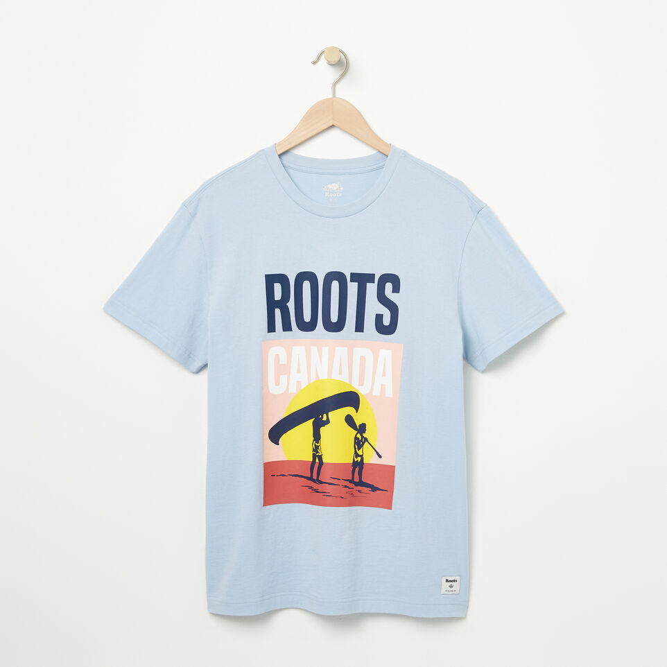 Roots-undefined-T-shirt Portage pour homme-undefined-A