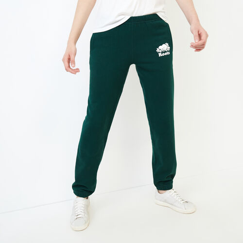 Roots-Clearance Women-Original Sweatpant-Varsity Green-A
