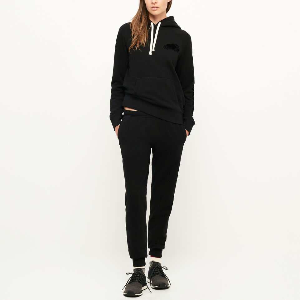 Roots-Women Our Favourite New Arrivals-Remix Kanga Hoody-Black-B