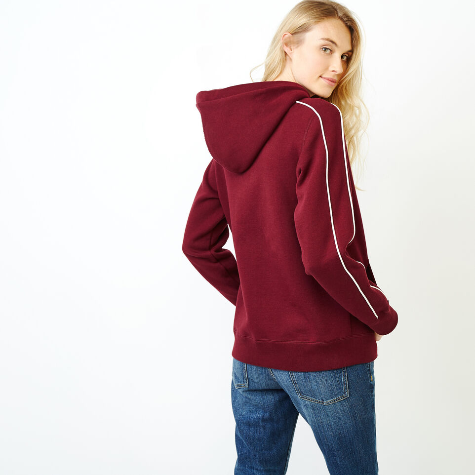 Roots-Women Categories-Womens Canada Kanga Hoody-Northern Red-D