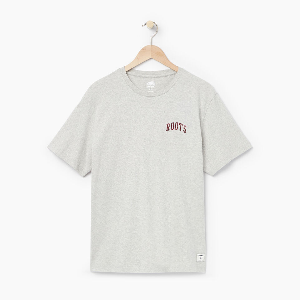 Roots-undefined-Mens Varcity 73 T-shirt-undefined-A