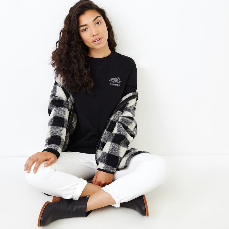Roots-undefined-Roots Breathe Crew Sweatshirt-undefined-B
