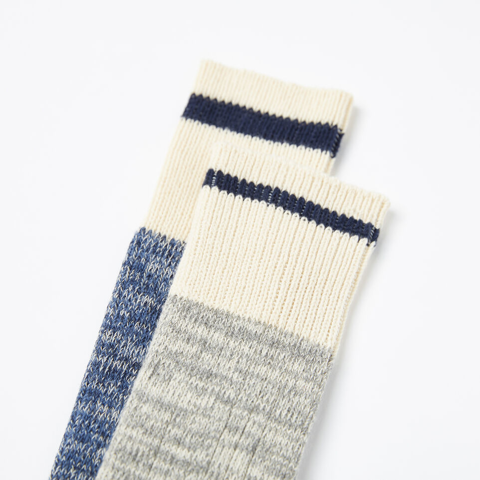 Roots-undefined-Cotton Cabin Sock 2 Pack-undefined-C