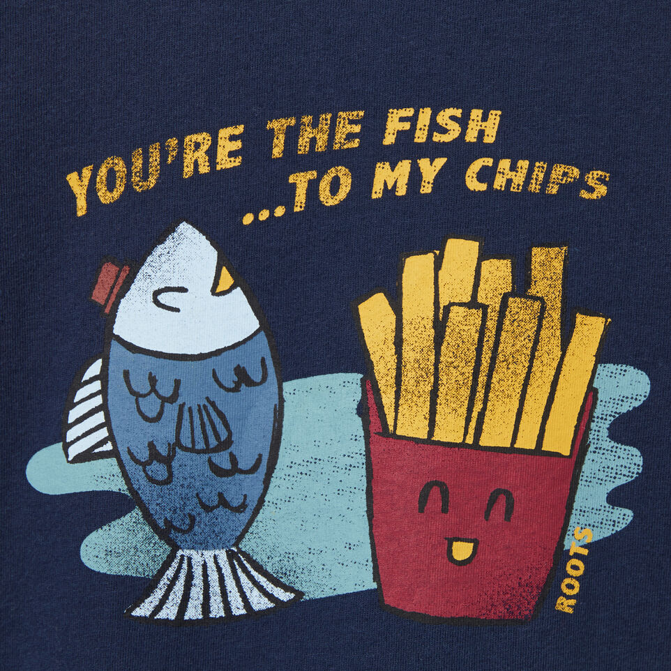 Roots-undefined-Toddler Fish N Chips T-shirt-undefined-C