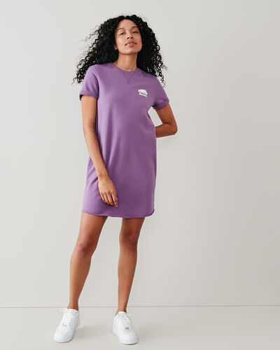 Roots-Femmes Robes-Robe Edith-Vrai Violet-A