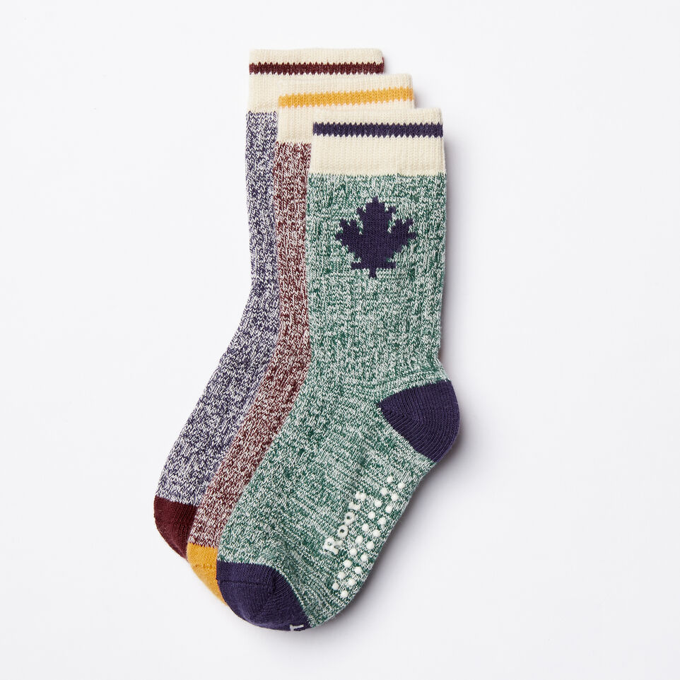 Roots-undefined-Toddler Maple Sock 3 Pack-undefined-B