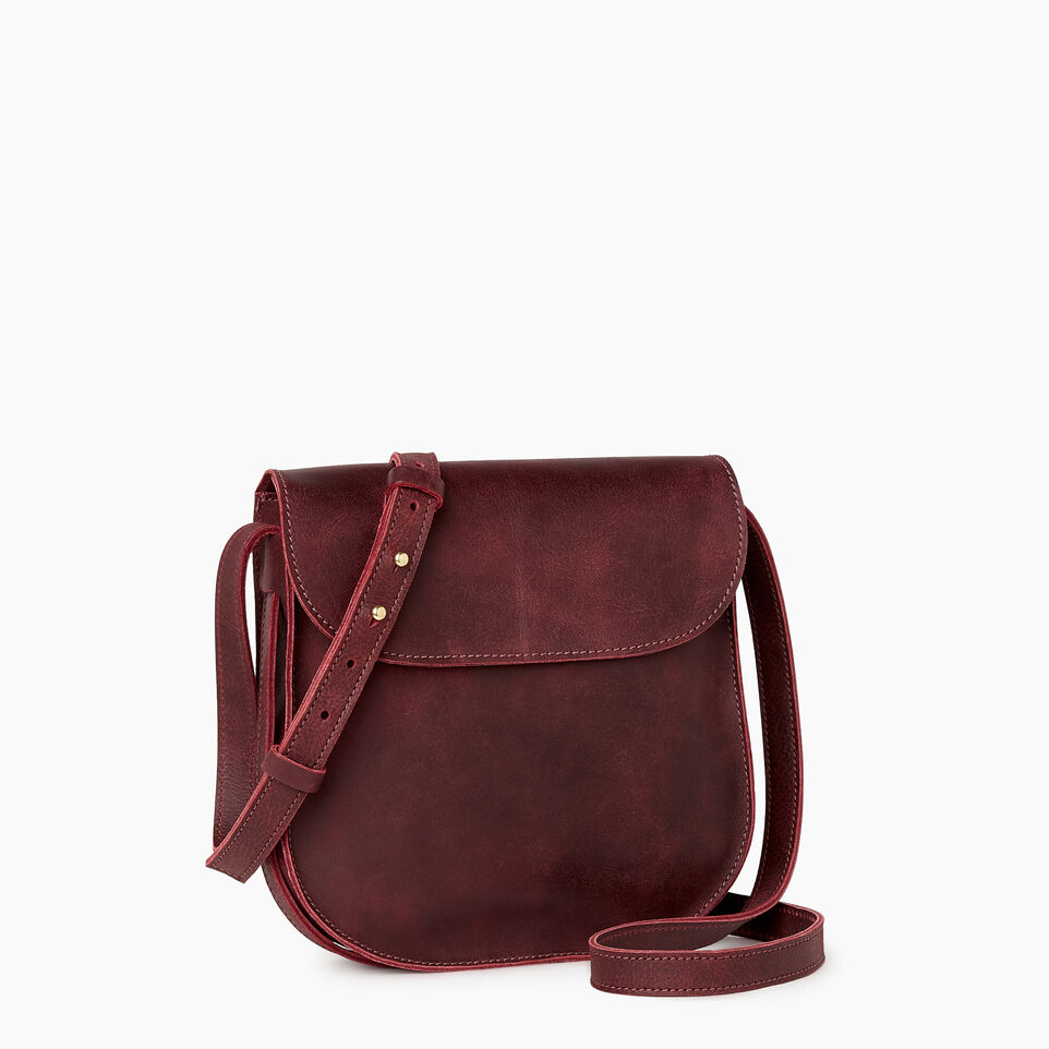 Roots-Leather  Handcrafted By Us Our Favourite New Arrivals-Lambert Bag-Crimson-A