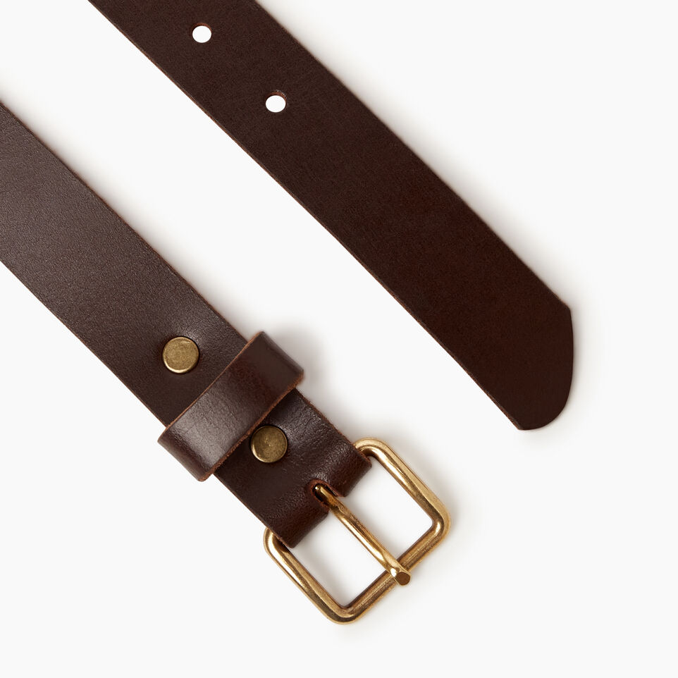 Roots-Women New Arrivals-Roots Unisex Belt-Brown-B