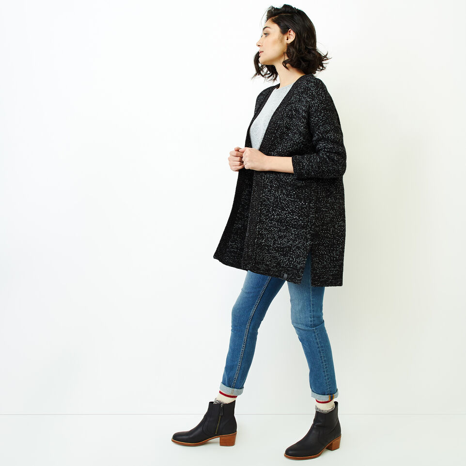 Roots-Women Our Favourite New Arrivals-Snowy Fox Cardigan-Black Fox-C