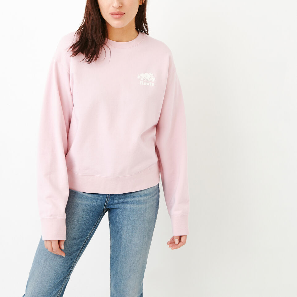 Roots-undefined-Side Snap Crew Sweatshirt-undefined-A