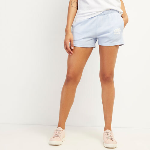 Roots-Women Shorts & Skirts-Original Sweatshort-Bonita Blue Pepper-A