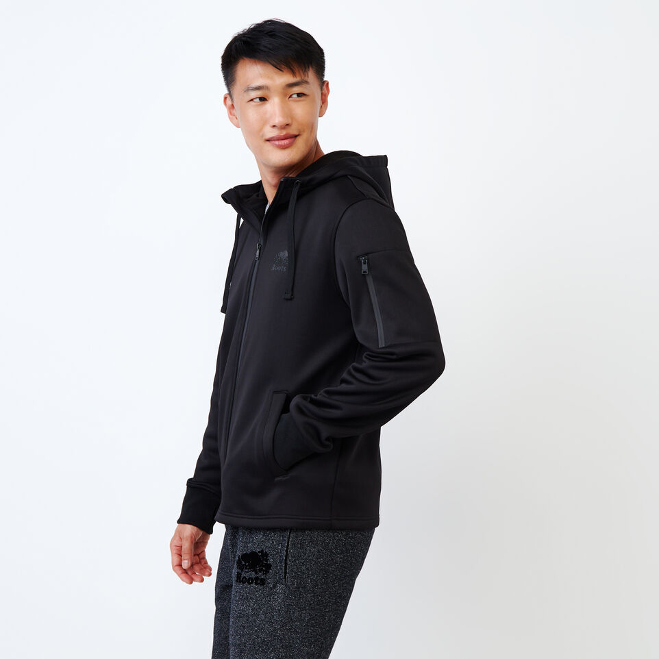Roots-undefined-Logan Bonded Zip Hoody-undefined-C