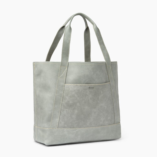 Roots-Leather  Handcrafted By Us Handbags-Muskoka Tote-Quartz-A