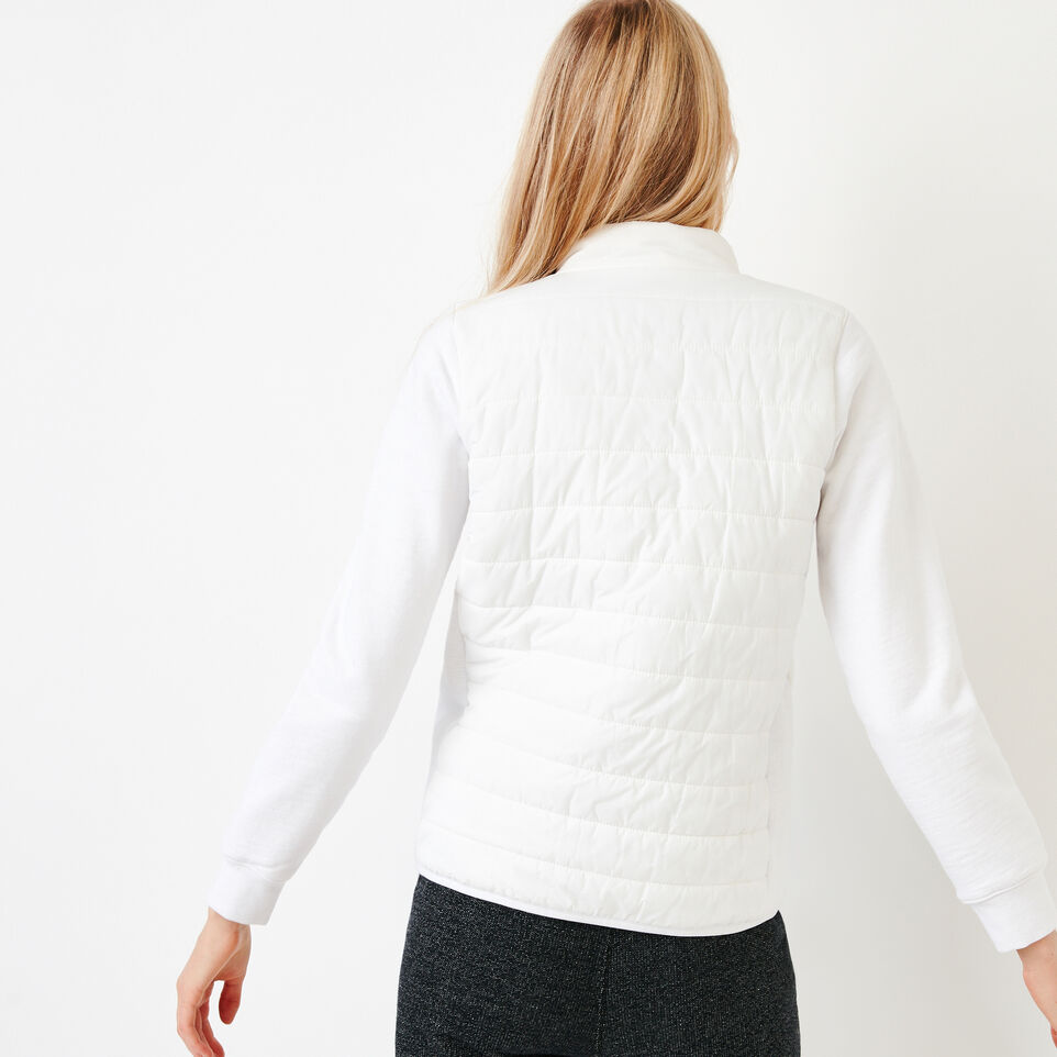 Roots-New For July Daily Offer-Roots Hybrid Jacket-White-D