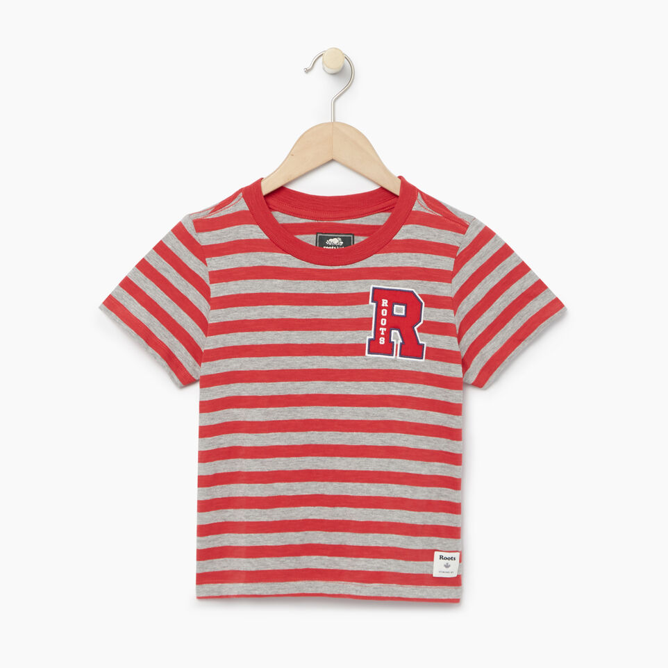 Roots-Kids Categories-Girls Alumni Boxy Top-Chrysanthemum-A