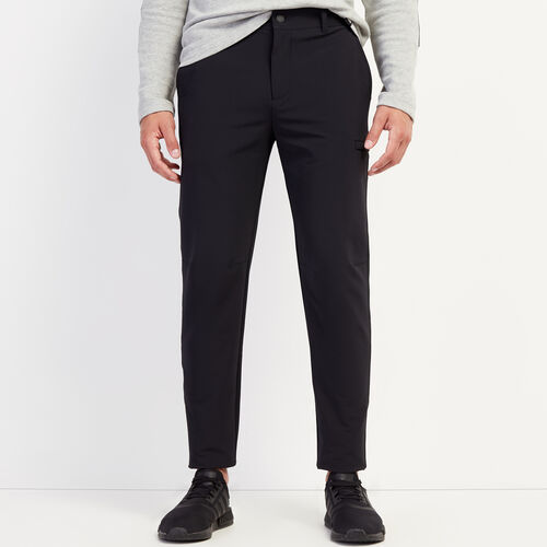 Roots-Men Bottoms-Journey Tech Pant-Black-A