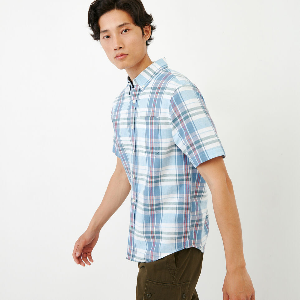 Roots-Men Our Favourite New Arrivals-Shorepine Madras Shirt-Infinity-C