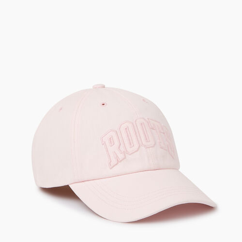 Roots-Men Categories-Strathcona Baseball Cap-Pink Mist-A