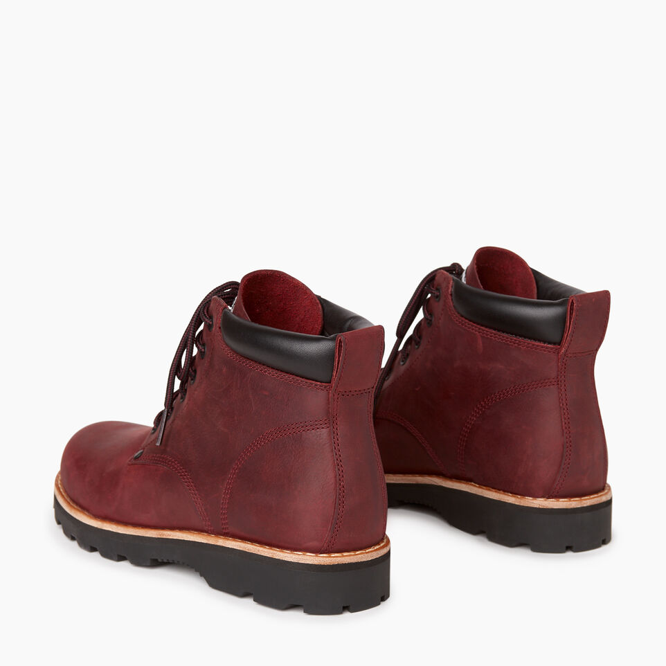 Roots-Women Clothing-Womens Tuff Boot-Red Sea-E