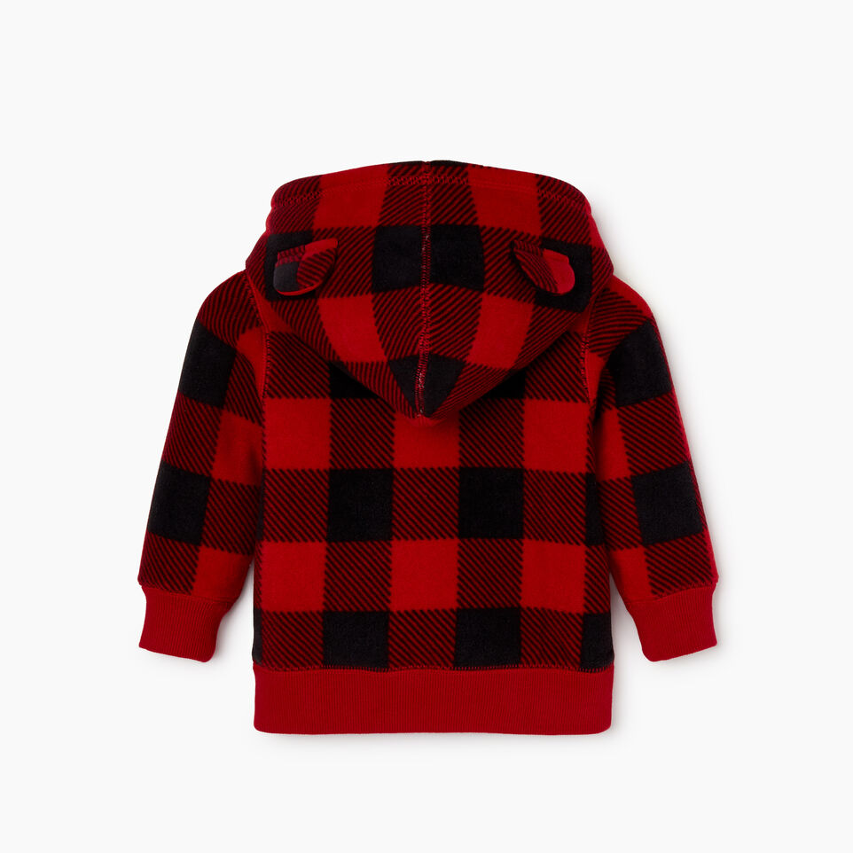 Roots-undefined-Baby Park Plaid Sherpa Lined Hoody-undefined-B