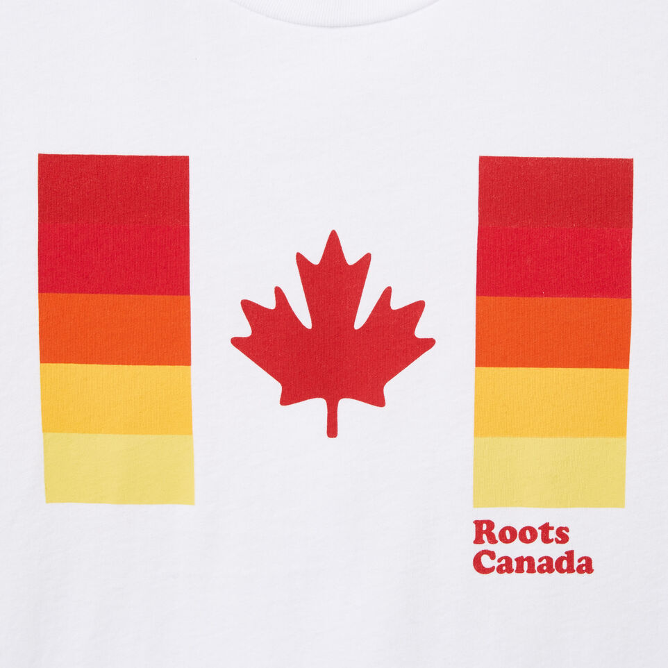 Roots-undefined-Womens Flag Bars T-shirt-undefined-C