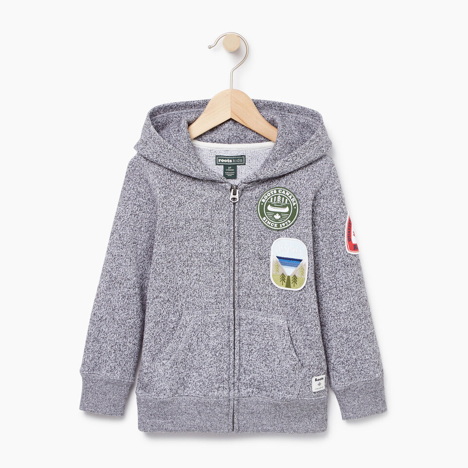 Roots-Kids Our Favourite New Arrivals-Toddler Patches Full Zip Hoody-Salt & Pepper-A